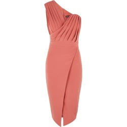 Lavish Alice Rose One-shoulder Midi Dress found on MODAPINS from Harvey Nichols for USD $96.98