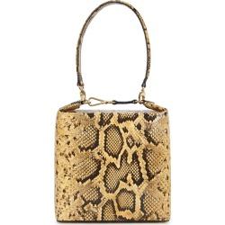 Rejina Pyo Lucie Light Brown Snake Print Top Handle Bag found on Bargain Bro UK from Harvey Nichols