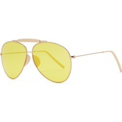 Acne Studios Howard Aviator-style Sunglasses found on MODAPINS from Harvey Nichols for USD $404.40