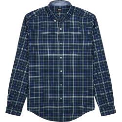 BOSS Rikard Checked Brushed Cotton Shirt found on Bargain Bro UK from Harvey Nichols