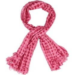 HIGH Reason Pink Cotton-blend Scarf found on MODAPINS from Harvey Nichols for USD $290.32