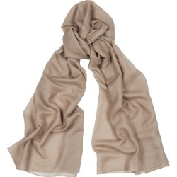 Denis Colomb Cloud Light Brown Cashmere Scarf found on MODAPINS from Harvey Nichols for USD $585.35
