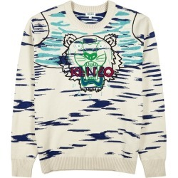 Kenzo Claw Tiger Embroidered Knitted Jumper found on Bargain Bro UK from Harvey Nichols