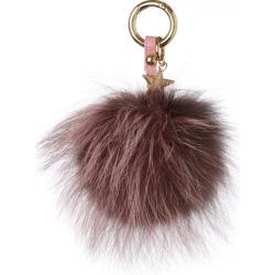 Popski London Fur Pom Pom Keyring found on Bargain Bro UK from Harvey Nichols