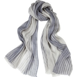 Denis Colomb Toosh Striped Cashmere And Linen-blend Scarf found on MODAPINS from Harvey Nichols for USD $546.75