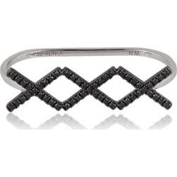Alinka Jewellery Katia Trio Three-finger Ring Black Diamonds found on MODAPINS from Harvey Nichols for USD $3444.29