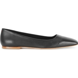 Aeyde Gina Black Leather Flats found on MODAPINS from Harvey Nichols for USD $219.18