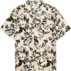 Norse Projects Carsten Printed Cotton Shirt found on MODAPINS from Harvey Nichols for USD $239.72