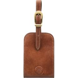 Maxwell Scott Bags Full Grain Luxury Leather Luggage Tag In Tan found on Bargain Bro UK from Harvey Nichols
