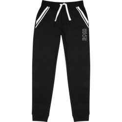BOSS Authentic Black Printed Cotton Sweatpants found on MODAPINS from Harvey Nichols for USD $95.51