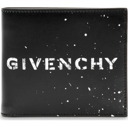 Givenchy Black Logo-print Leather Wallet found on MODAPINS from Harvey Nichols for USD $428.09