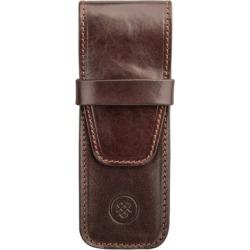 Maxwell Scott Bags Elegant Full Grain Brown Leather Pen Case found on Bargain Bro UK from Harvey Nichols