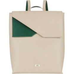 Stacy Chan London Madison Backpack In Stone Saffiano Leather found on Bargain Bro UK from Harvey Nichols
