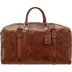 Maxwell Scott Bags Maxwell Scott Italian Made Large Leather Luggage Bag - Flerol Tan found on Bargain Bro UK from Harvey Nichols
