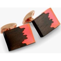 Tateossian Fusion Cufflinks In Red found on Bargain Bro UK from Harvey Nichols
