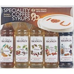 Monin Flavoured Coffee Syrup Gift Set 5 X 50ml found on Bargain Bro UK from Harvey Nichols