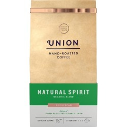 Union Hand-Roasted Coffee Natural Spirit Organic Coffee Beans 200g