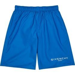 Givenchy Blue Logo-print Swim Shorts found on MODAPINS from Harvey Nichols for USD $445.66
