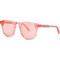 Chimi 001 Pink Wayfarer-style Sunglasses found on MODAPINS from Harvey Nichols for USD $167.24