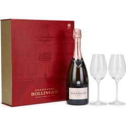 Bollinger Rosé Champagne NV & Flutes Gift Set found on Bargain Bro UK from Harvey Nichols