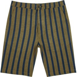 Oliver Spencer Buckden Striped Cotton-blend Shorts found on MODAPINS from Harvey Nichols for USD $169.21