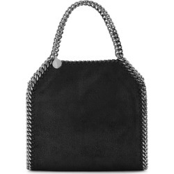 Stella McCartney Falabella Mini Black Top Handle Bag found on Bargain Bro UK from Harvey Nichols
