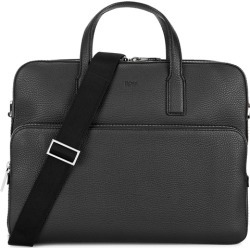 BOSS Crosstown Black Leather Briefcase found on Bargain Bro UK from Harvey Nichols