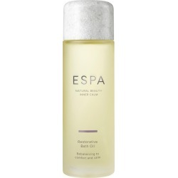 ESPA Restorative Bath Oil 100ml found on Makeup Collection from Harvey Nichols for GBP 32.38