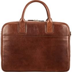 Maxwell Scott Bags Men S Tan Italian Leather Business Bag For Laptop found on Bargain Bro UK from Harvey Nichols