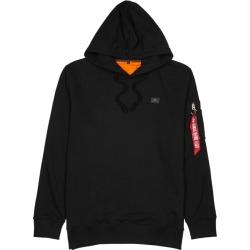 Alpha Industries Xfit Black Terry Sweatshirt found on MODAPINS from Harvey Nichols for USD $99.78