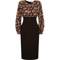 Traffic People Wiggle Printed Pencil Dress In Black found on MODAPINS from Harvey Nichols for USD $106.84
