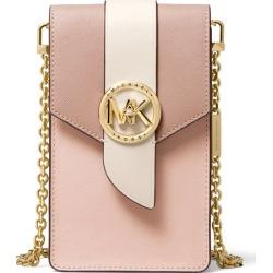 MICHAEL Michael Kors Small Tri-color Saffiano Leather Smartphone Crossbody Bag