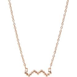 Jewel Tree London Baori Silhouette Necklace - Rose Gold Vermeil found on Bargain Bro UK from Harvey Nichols
