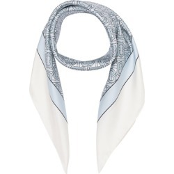 Burberry Monogram Print Silk Square Scarf found on MODAPINS from Harvey Nichols for USD $374.20