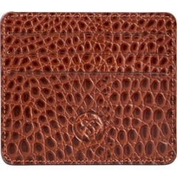 Maxwell Scott Bags Handcrafted Faux Crocodile Leather Credit Card Case found on Bargain Bro UK from Harvey Nichols