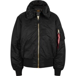 Alpha Industries B-15 Black Shell Bomber Jacket found on MODAPINS from Harvey Nichols for USD $266.07