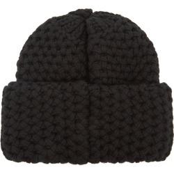 Inverni Giulia Black Chunky-knit Cashmere Beanie found on MODAPINS from Harvey Nichols for USD $341.92