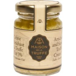 Maison De La Truffe Artichoke And Summer Truffle Cream 90g found on Bargain Bro UK from Harvey Nichols