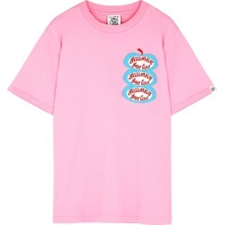 Billionaire Boys Club Pink Printed Cotton T-shirt found on MODAPINS from Harvey Nichols for USD $107.14