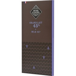 Michel Cluizel Grand Lait 45% (Milk Chocolate Bar) 70g found on Bargain Bro UK from Harvey Nichols