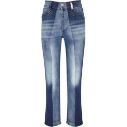 HIGH Up-Start Faded Straight-leg Jeans found on MODAPINS from Harvey Nichols for USD $464.93