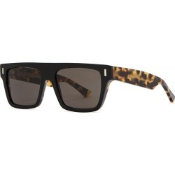 Cutler And Gross Black Square-frame Sunglasses found on MODAPINS from Harvey Nichols for USD $410.93