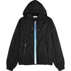 Givenchy Black Logo-print Hooded Shell Jacket found on MODAPINS from Harvey Nichols for USD $1463.38