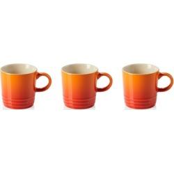 Le Creuset Set Of 3 Stoneware Espresso Mugs Volcanic found on Bargain Bro UK from Harvey Nichols
