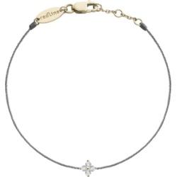 The Alkemistry Redline 18ct Yellow Gold And Diamond Tahini Thread Bracelet found on Bargain Bro UK from Harvey Nichols