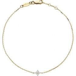 Redline 18ct Yellow Gold And Diamond Shiny Four Diamonds Chain Bracelet found on Bargain Bro UK from Harvey Nichols