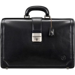 Maxwell Scott Bags Maxwell Scott Quality Leather Briefcase For Lawyer - Basilio Black found on Bargain Bro UK from Harvey Nichols