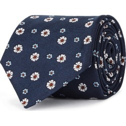 Corneliani Floral-embroidered Silk Tie found on MODAPINS from Harvey Nichols for USD $141.65