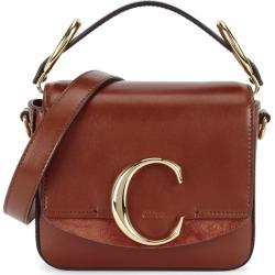 Chloé Chloé C Mini Leather Cross-body Bag found on Bargain Bro UK from Harvey Nichols