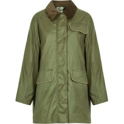 Barbour By ALEXACHUNG Cyril Army Green Waxed Cotton Jacket found on Bargain Bro UK from Harvey Nichols